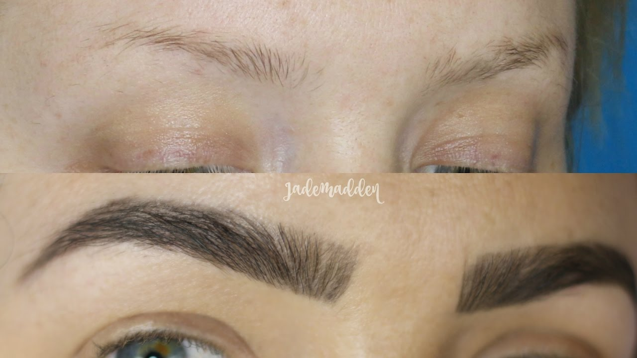 Eyebrow Tutorial The New Instagram Brows Micro Blading Effects