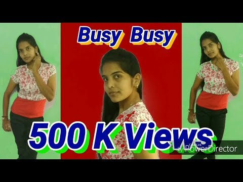 Busy Busy | Neha Pandey | New 2018 Hindi Song | Lyrical Dance | Arushi