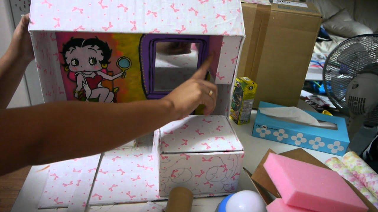 Manualidades Organizador De Accesorios Betty Boop Ju