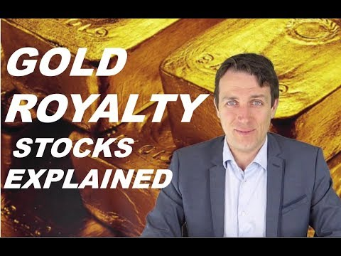 Invest in Gold Royalty or Streaming Companies - Franco Nevada, Wheaton, Royal Gold