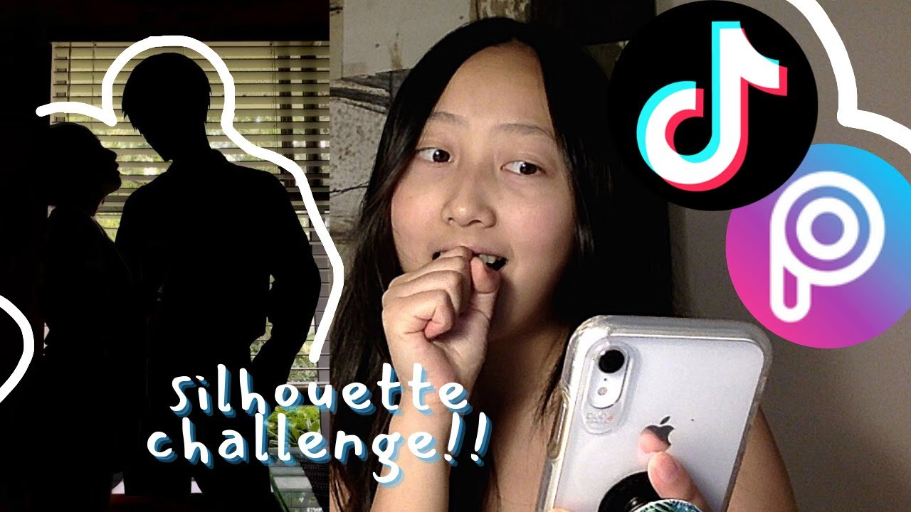 Silhouette Tik Tok Tutorial I Tried The Tik Tok Anime Silhouette Trend Youtube