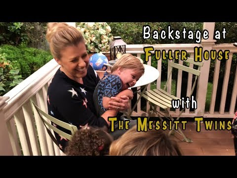 BEHIND THE SCENES AT FULLER HOUSE - Featuring Jodie Sweetin