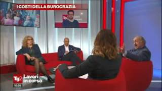 Prof. Giuseppe Di Taranto, TG2 Lavori in corso, Rai2, 2 novembre 2017