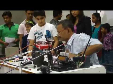 Gujarat Science City ARISS Astronaut Ham Radio Telebridge School Contact Programme