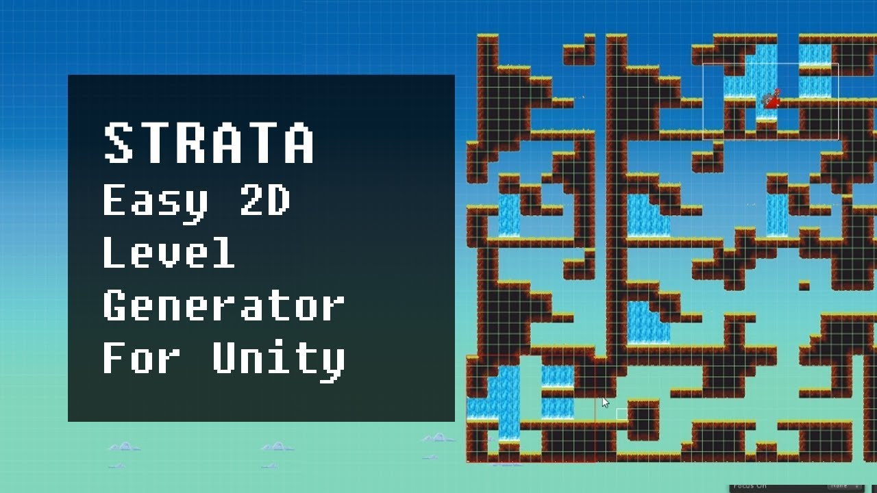 Strata Easy 2D Level Generator For Unity by mattmirrorfish