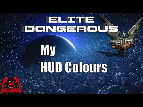 Elite: Dangerous How to change the HUD color - YouTube