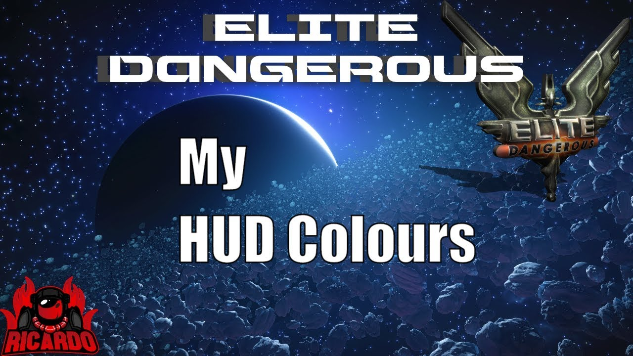 Elite: Dangerous How to change the HUD color