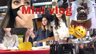 Vlog 1 : مشينا لأكبر مول | 😍✌️خريجة معايا انا و صحبتي