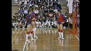 1986 日ソ対抗 (Japan Russia Friendly Match)