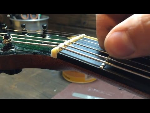 how-to-make-a-guitar-bone-nut---haursen-guitar-workshop