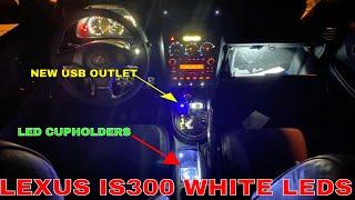 LED Interior: Lexus IS300 Dash…