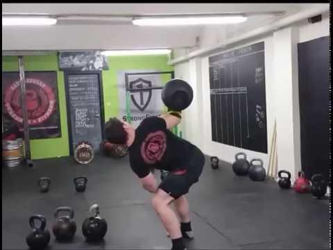 80kg Bent Press by Oliver Quinn