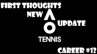 AO Tennis - Thoughts Post New UPDATE - Career #12 - Veteran Difficulty - PS4 Gameplay