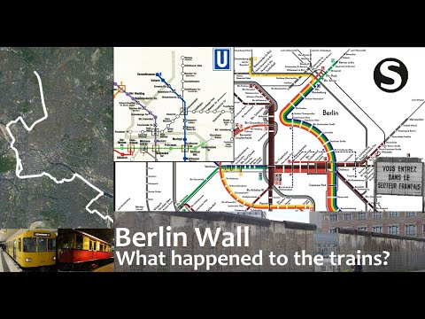 Berlin Wall: What happened to the trains? (Documentary)