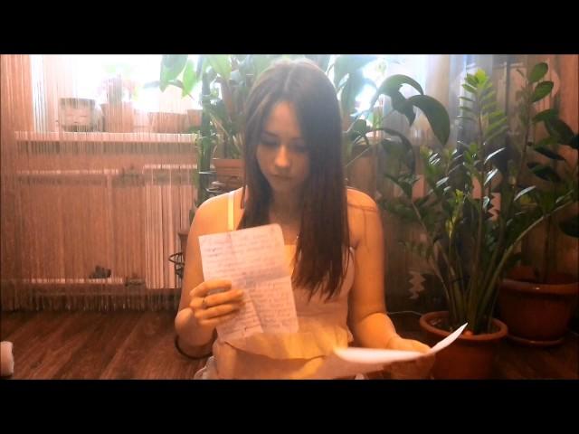 Изображение предпросмотра прочтения – АнгелинаСуворова читает произведение «Она сидела наполу…» Ф.И.Тютчева