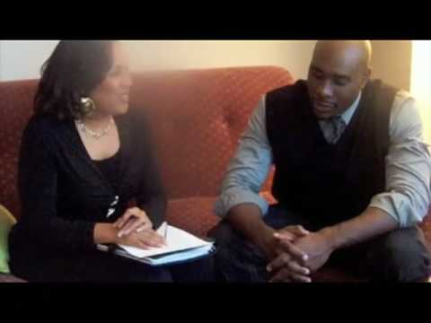 """Not Easily Broken"" Interview with Morris Chestnut - host Pam Perry, Chocolate Page"