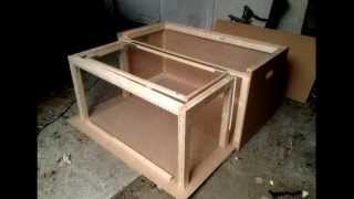 Diy Large Compacting Rabbit Hutch