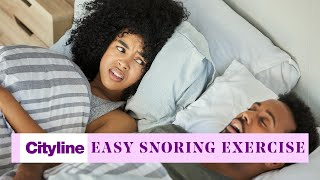 The 30-second snoring exercise to save your goodnight's sleep