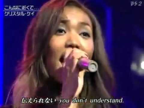 50  Crystal Kay Konna Ni Chikaku De Live