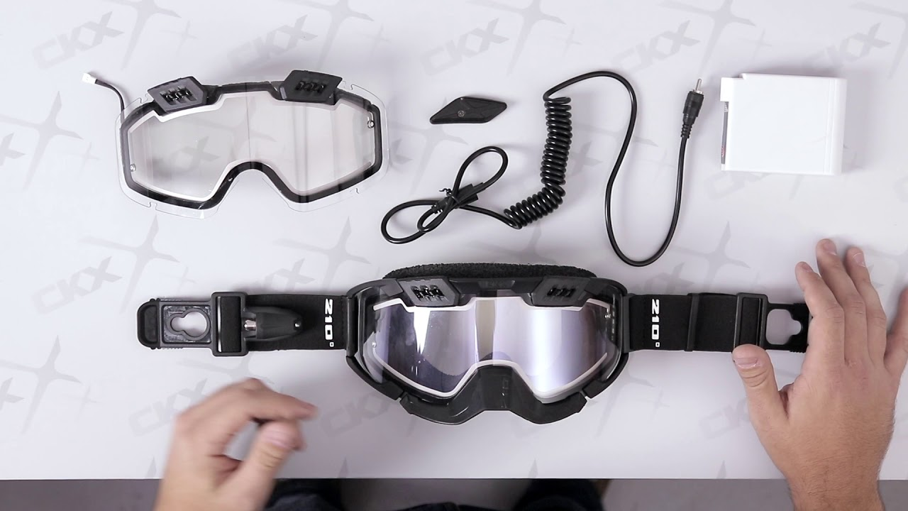 926b7b7d8058 A closer look to the CKX Electric 210° Tactical Goggle. - YouTube