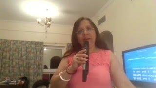 Singing Hum Aapke Hain Kaun On Karaoke