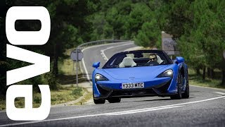 McLaren 570S Spider review | evo REVIEW