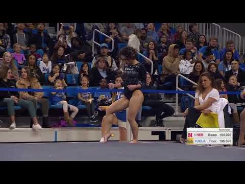 Katelyn Ohashi 2019 Floor vs Nebraska 9.950