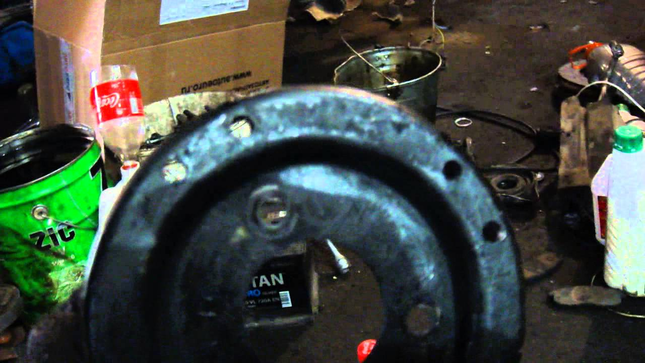 Провернуло шатунный вкладыш на 3 ем цилиндре. Звук из салона. Ауди 100 C4, 2,3 AAR