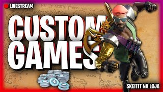 🔴 FORTNITE-BUY THE NEW PACK?!? CUSTOM GAMES!! SKEIAT IN THE SHOP!