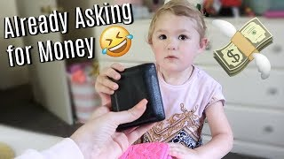 STEALING DADDY'S WALLET!