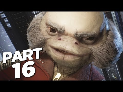 STAR WARS JEDI FALLEN ORDER Walkthrough Gameplay Part 16 - MICH MURDA BOSS (FULL GAME)