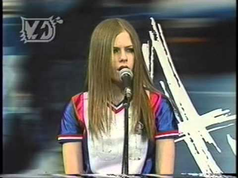 Avril Lavigne - I'm with you @ Press conference Japan 29/03/2003