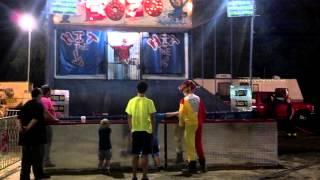 mount hope fire co firefighter clown vs bozo the fair dunk tank clown 8 24 2014 take 2