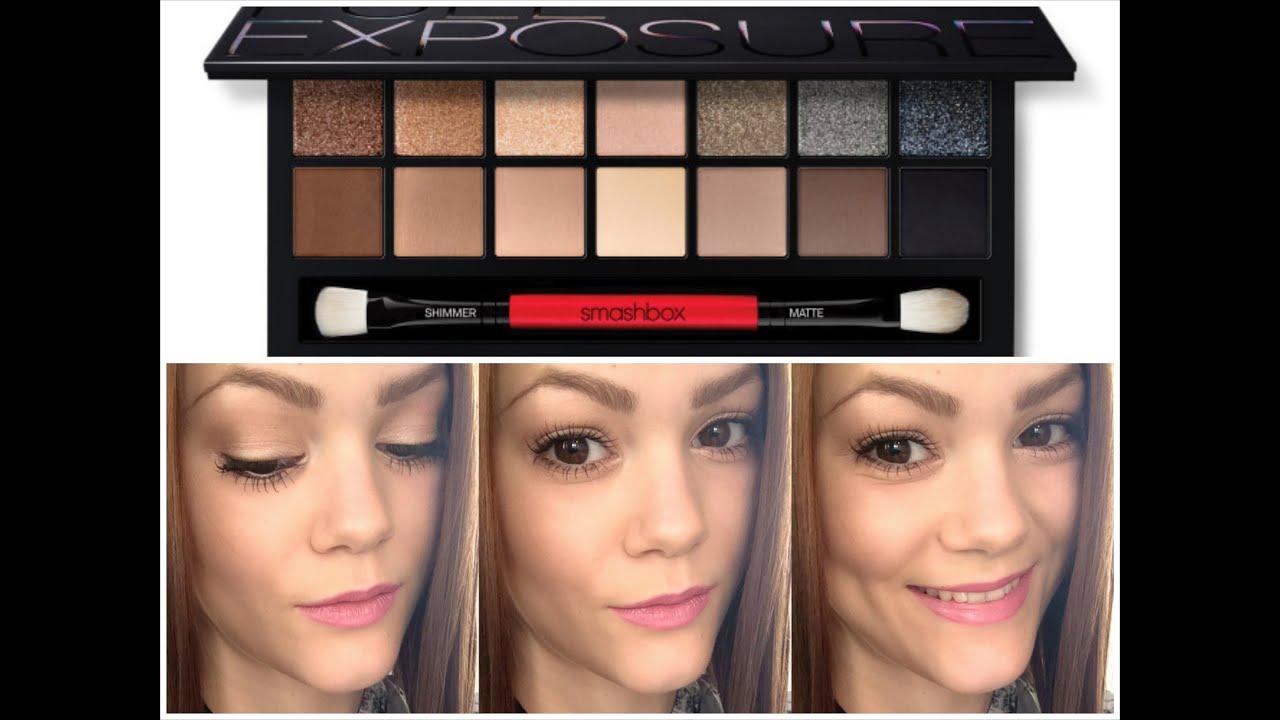 SMASHBOX FULL EXPOSURE TUTORIAL - #1 Look: Day Makeup (Almond Eyes ...