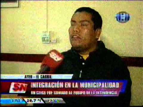 Contratan a un hombre no vidente en la municipalidad de El Carril