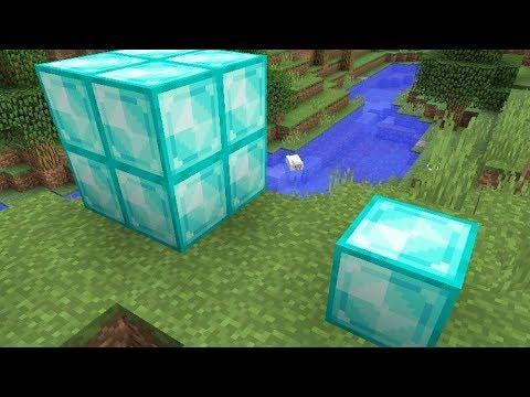 Minecraft 1.13 News: New Diamond Block & No Textures Safe ...