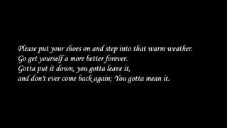 ATMOSPHERE-The Last To Say LYRICS