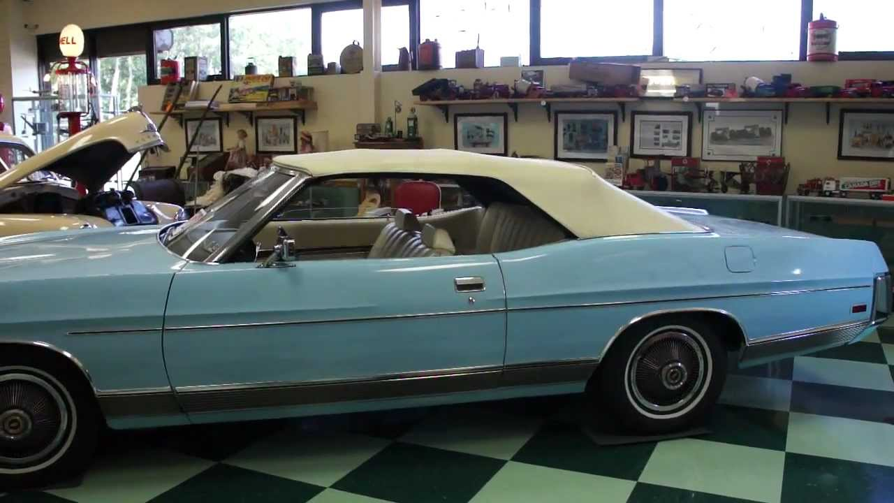 1972 Ford LTD Convertible For Sale~Time Capsule With ONLY