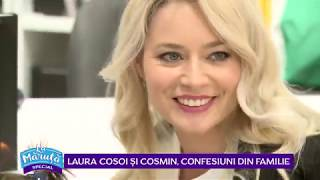 Laura Cosoi si Cosmin, confesiuni din familie