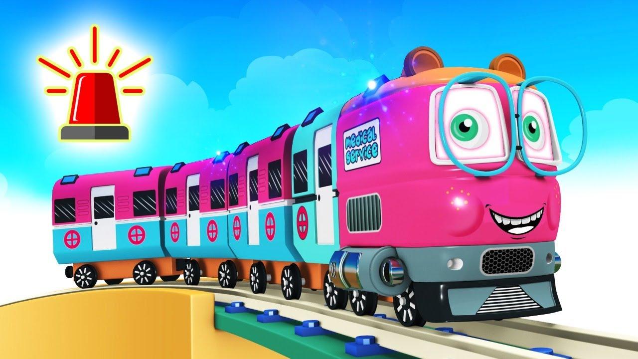 Train Wala Toy Factory - Choo Choo Toy Train Station for Kids Trains Cartoon