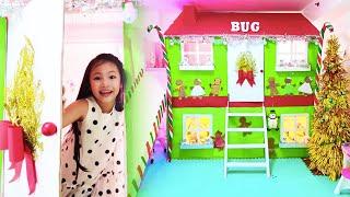 Christmas Room Makeover Challenge with Bug