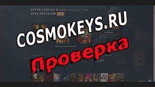 Cosmokeys.ru - проверка на лохотрон