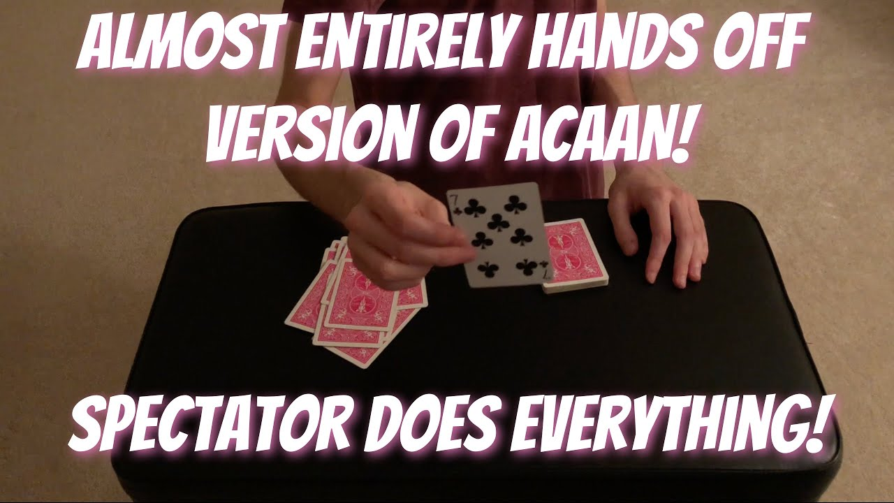 One Of The CLEANEST Any Card At Any Number (ACAAN) Tricks! Performance/Tutorial