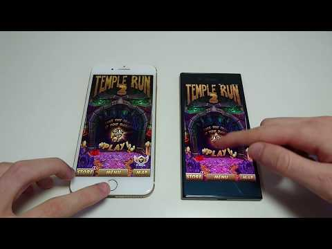 Sony Xperia XZ vs iPhone 7 Plus Speed Test, Multitasking, Camera Speed, Benchmark
