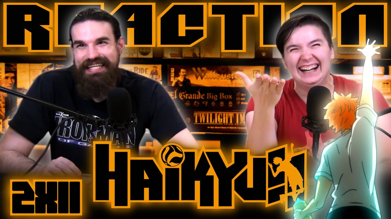 "Haikyuu 2x11 REACTION!! ""Above"""