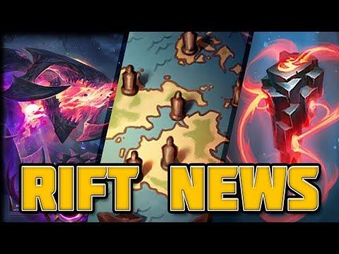 Rift News: Map of Runeterra, Ryze Short & Charity Skin