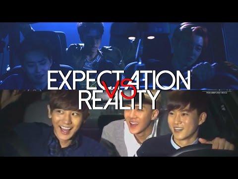 EXO (엑소) - expectation vs reality 3