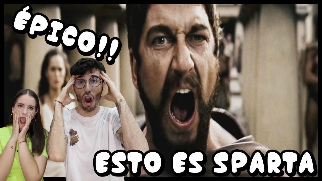 ESPAÑOLES REACCIONAN A DOBLAJE LATINO VS ESPAÑOL DE 300/ESTO ES SPARTA #300 #DOBLAJES