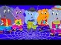 Ek Mota Hathi Jhoom Ke Chala | Hindi Bal Kavita | एक मोटा हाथी | Hindi Numbers Song | Hindi Rhymes