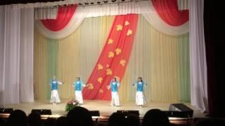 """Конкурс к Дню учителя """"Большие танцы"""" Детский сад №22 город  Можга, Удмуртия"""